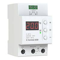 Терморегулятор цифровой для теплого пола terneo b30 6000 ВА