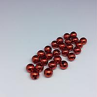 Декоративные шарики. Цвет красный. 10х10мм