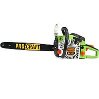 Бензопила PROCRAFT K450L (шина+цепь+фильтр)