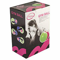 """Мяч для фитнеса гладкий """"GymBall"""" 65см 25415-6"""