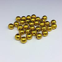 Декоративные шарики. Цвет золото. 10х10мм