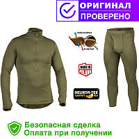 Термобелье Helikon-tex level 2 Olive (KP-UN2-PO-02)