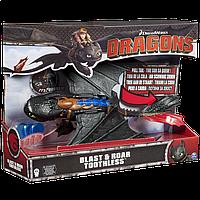 Игрушка Как приручить дракона: Большой дракон Беззубик де-люкс 38 см уценка