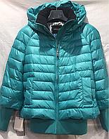 Куртка женская VERALBA VDF-75M/071(цвет бирюзовый)