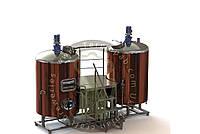 Пивоварня на 500л
