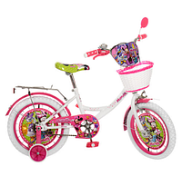 Детский велосипед двухколесный 16 дюймов MI166W Минни Маус ***