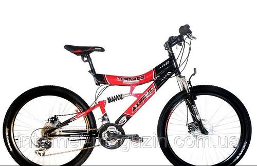 Горный велосипед Azimut Tornado 26 GD New