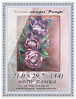 Фоторамка пластиковая А-4 (21х30), рамка для фото, дипломов, сертификатов, грамот