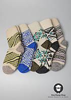 Шерстяные носки, носки ручной вязки
