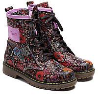 Кожаные ортопедические ботинки FS Сollection для девочки, демисезонные, размер 26-36, фото 1