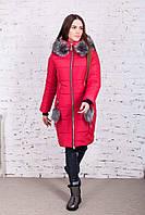 Женская зимняя куртка от украинского производителя новинка 2017-2018 - (модель Инна к-10)