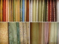 Используемые ткани для штор