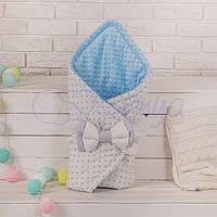 Конверт-одеяло на выписку, Мечта голубой