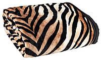 Плед  140 х 200 см тигр