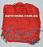 Сетка овощная 21х31 (до 3кг) красная, с ручкой,мешки сетки для овощей