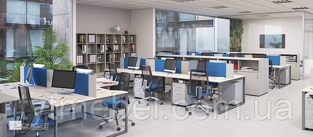 Офисная мебель для персонала Джет