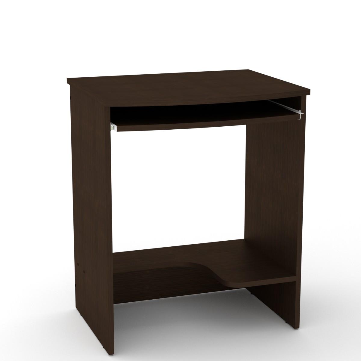 Стол компьютерный СКМ-13 венге темный Компанит (61х50х74 см)