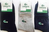 """Носки мужские зимние махровая стопа """"LACOSTE"""" 41-45 размер, ассорти"""