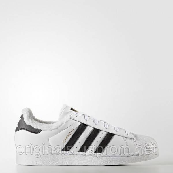 bfecd610d Женские теплые кроссовки Adidas Superstar Winter W CP9630 -  интернет-магазин Originals - Оригинальный Адидас