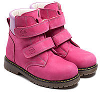 Зимние, ортопедические ботинки FS Сollection для девочки, на липучках,размер 21-36, фото 1