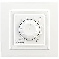 Терморегулятор для ик-панелей terneo rol unic белый