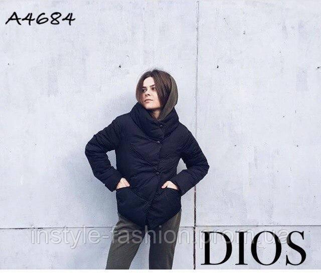 ... Женская демисезонная куртка ткань плащевка