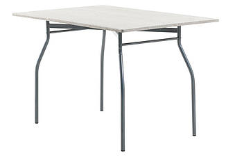 Обеденный стол прямоугольный 80х120см метал/ясень