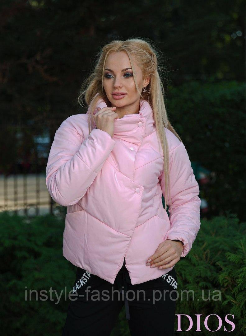 Женская демисезонная куртка ткань плащевка