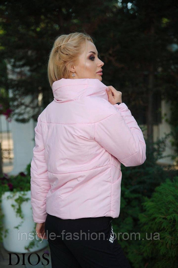 e5d185a593bc ... Женская демисезонная куртка ткань плащевка
