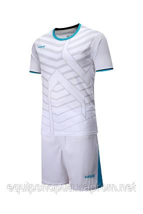Футбольная форма Europaw 015 белая, фото 2