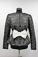 Куртка женская демисезонная, черная, р.44-48