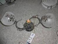 Люстра потолочная на 2 лампочки