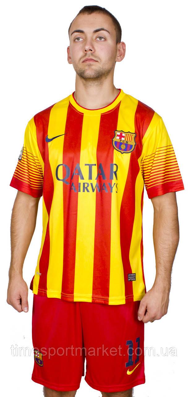 Футбольная форма Барселона Неймар 2013-2014 размер взрослая (Реплика)