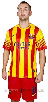 Футбольная форма Барселона Неймар 2013-2014 размер взрослая (Реплика), фото 2