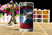 Чехол с рисунком HTC Desire 628 Щит Капитана Америка