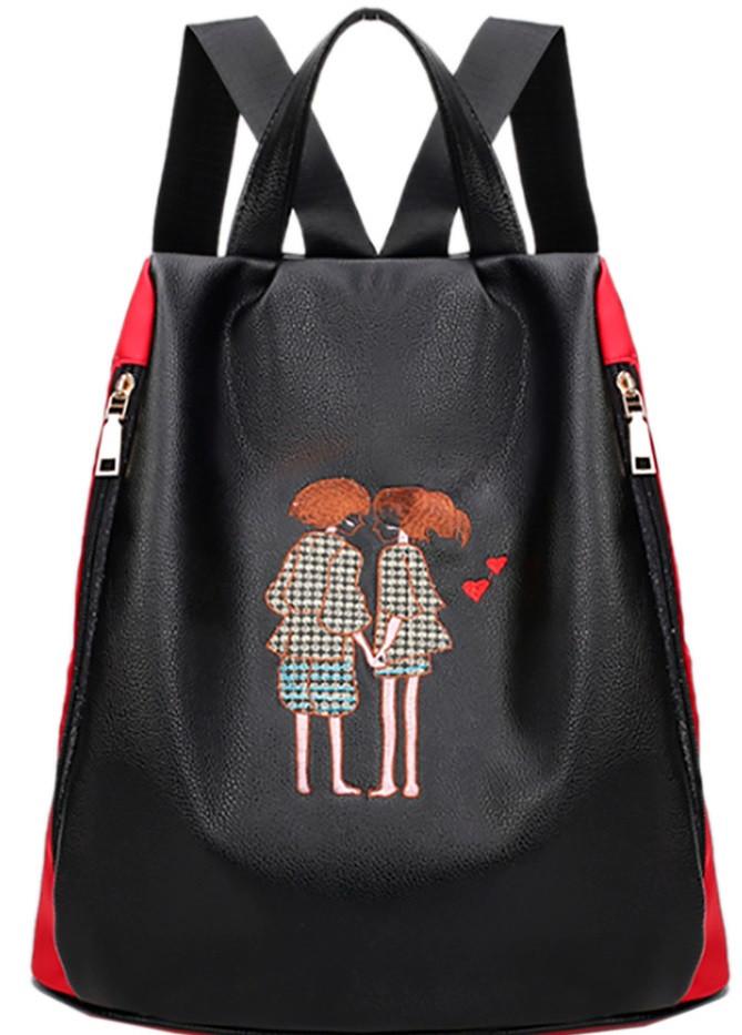 Необыкновенный рюкзак Traum 7229-51Черный