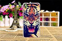 Чехол с рисунком HTC Desire 628 Тигр
