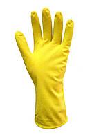 Перчатки латексные хозяйственные (Размер L) Seven 69279