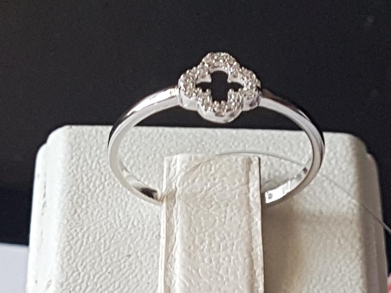 Серебряное кольцо с фианитами. Артикул 901-00871 15