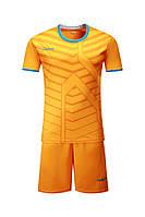 Футбольная форма Europaw 015 оранжевая 4XS (на рост 105-115 см)