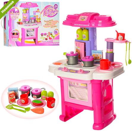 Кухня детская с духовкой музыкальная 16641G