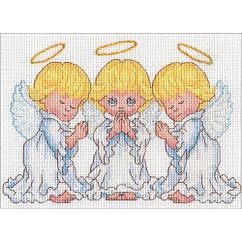 Набор для вышивки крестом Little Angels (17,7 см х 12,7 см) Dimensions 70-65167