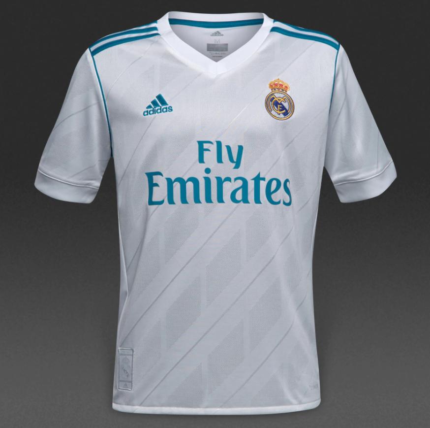 Футбольная форма Реал Мадрид (Real Madrid) 2017-2018 Домашняя ... 1291be4e441