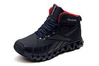 Зимние кроссовки Reebok Zignano, на меху, мужские, темно-синие, р. 41 43 44 45 46