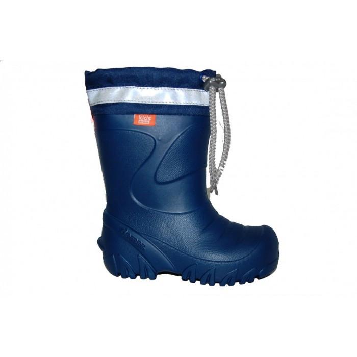 Дитячі гумові чобітки DEMAR Mammut-S D (синій) - Интернет магазин