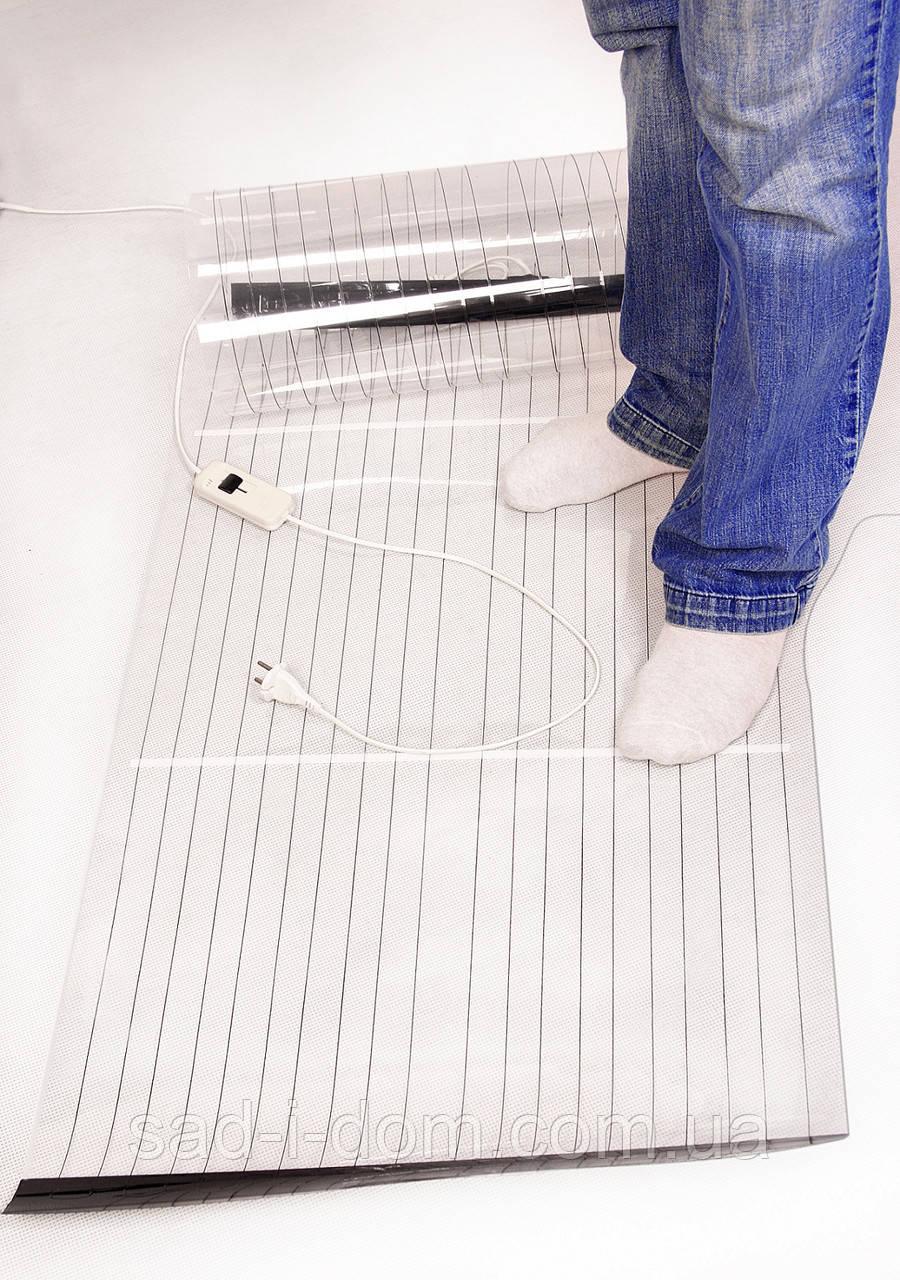 Мобильный теплый пол 180*60, коврик электрический