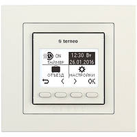 Терморегулятор terneo pro unic* слоновая кость