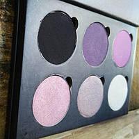 Палетка теней Elegant cosmetics 6 цветов
