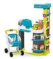 Интерактивный супермаркет Smoby City Shop с тележкой 350207