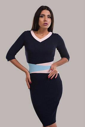 """Шикарное женское платье ткань """"Кукуруза"""" 48, 54 размер батал, фото 2"""